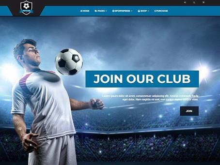 Les clubs sportifs et leurs sites web