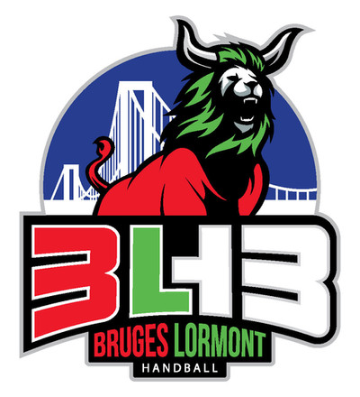 Logo Bruges Lormont Handball