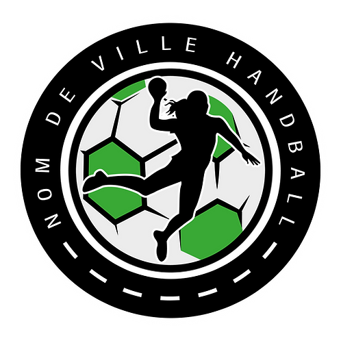 LOGO HANDBALL PLAYER 4