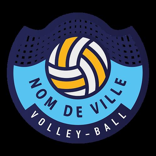 LOGO VOLLEY-BALL FILET