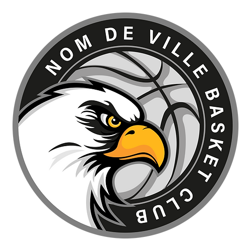 LOGO BASKET-BALL AIGLE