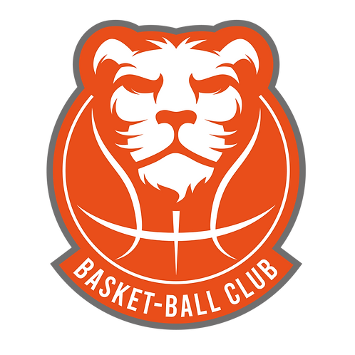LOGO BASKET-BALL LION