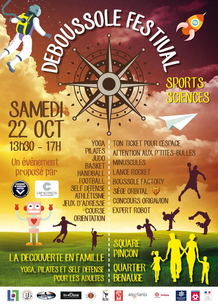 Deboussole festival à Bordeaux