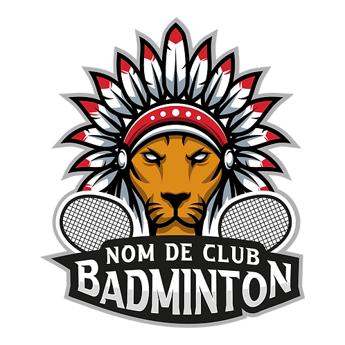 LOGO BADMINTON LION 2