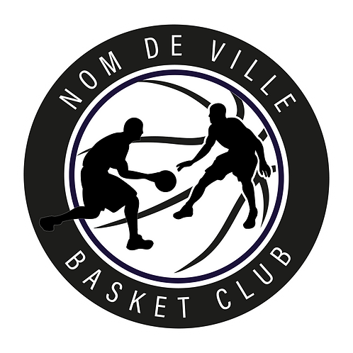LOGO BASKET-BALL PLAYER 11