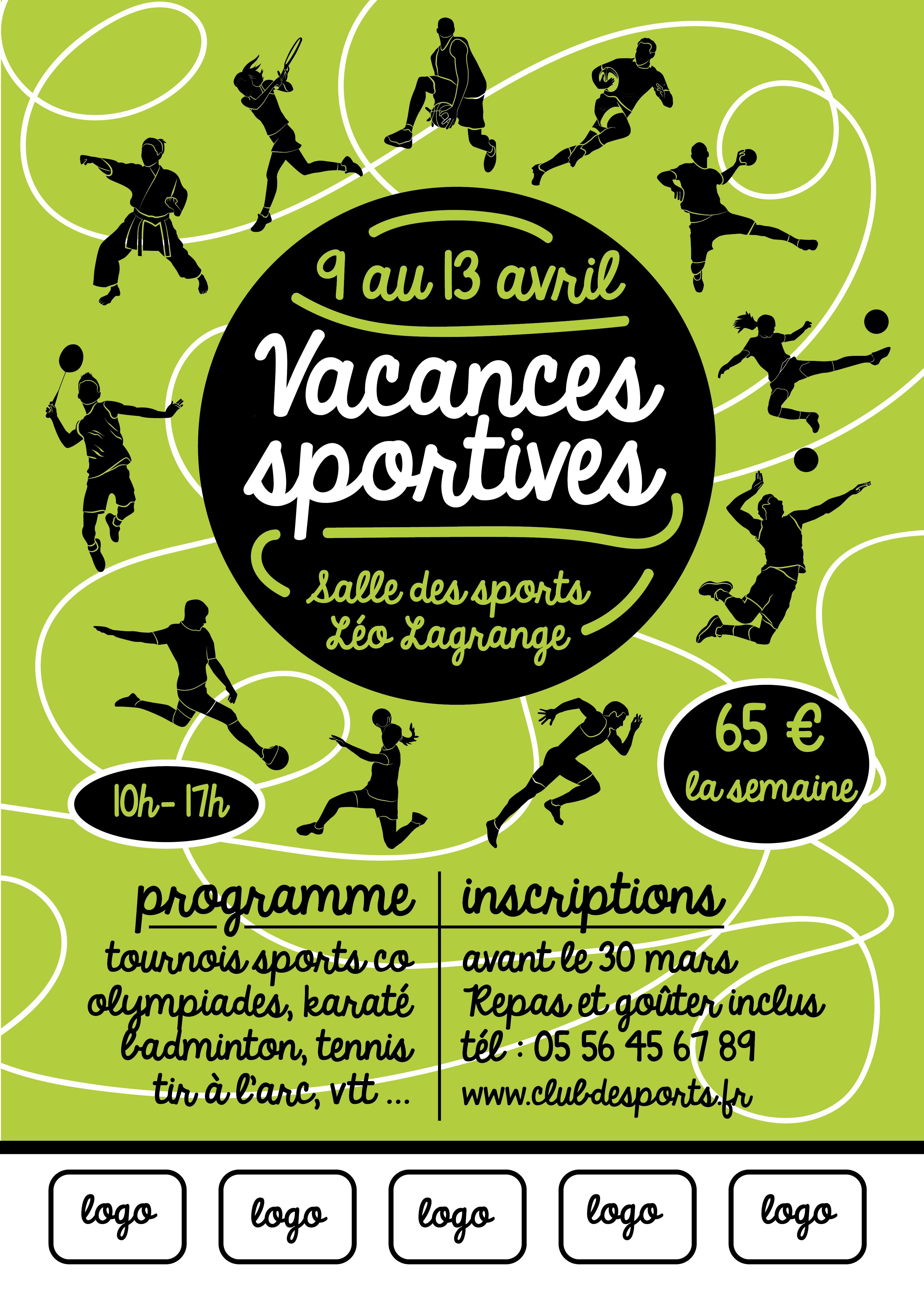 Modèle Vacances Sportives n°3