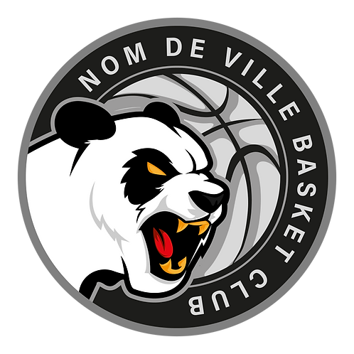 LOGO BASKET-BALL PANDA