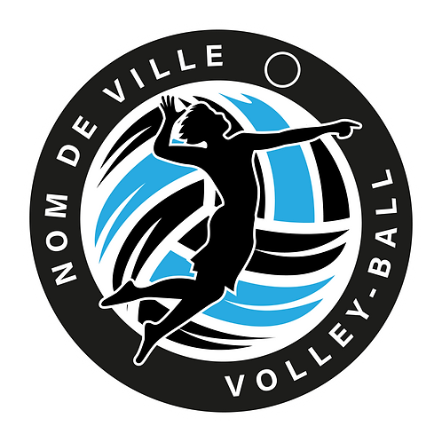 LOGO VOLLEY-BALL PLAYER 1