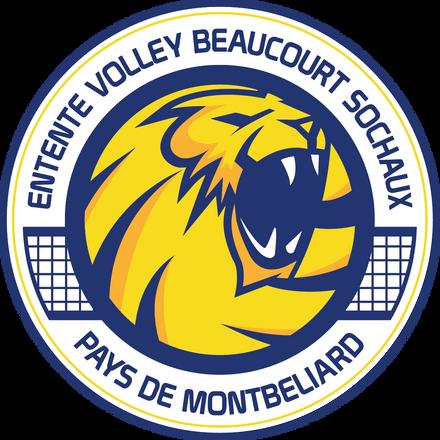 Logo entente Volley Beaucourt Sochaux - Pays de Montbéliard