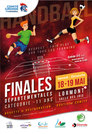 Affiche finale Handball Inter-comités