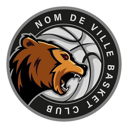 LOGO BASKET-BALL OURS