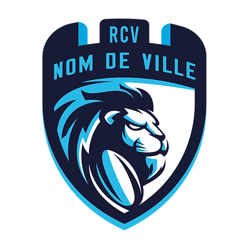 LOGO RUGBY LION 3