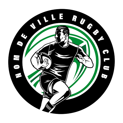 LOGO RUGBY PLAYER 1