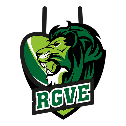 LOGO RUGBY LION 2
