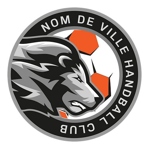 LOGO HANDBALL LION