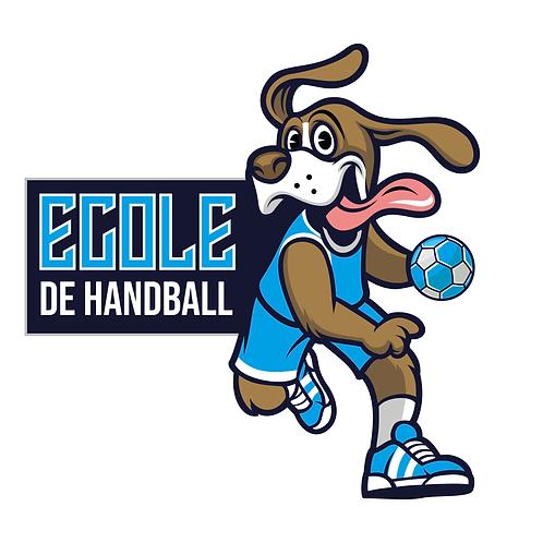 LOGO DOG HANDBALL