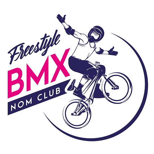LOGO CYCLISME 6 - BMX FREESTYLE