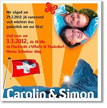 Hochzeitsfest Hochzeitskarte Heiraten