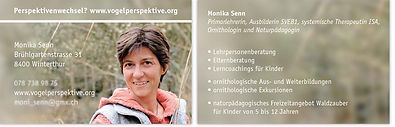 Visitenkarten Monika Senn