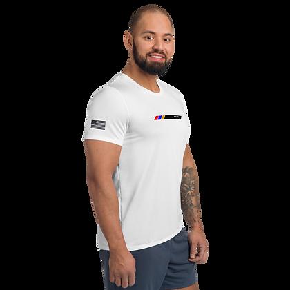 US Flag Athletic T-shirt