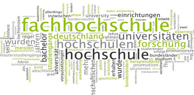 德國3種大學類型 3 main types of higher education in Germany