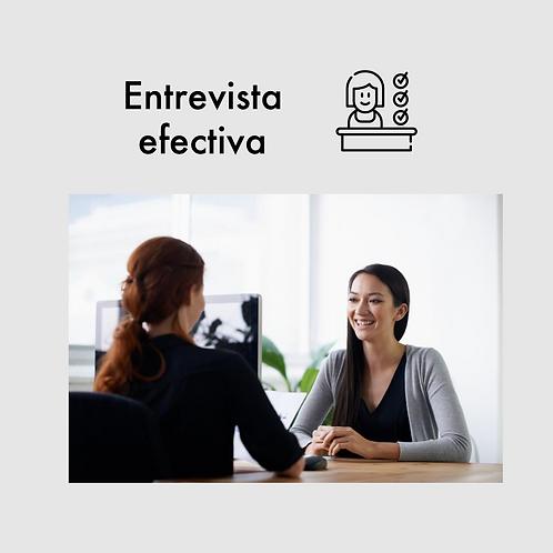 Entrevista efectiva