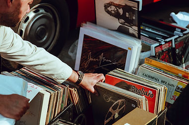 Music Records Echotape
