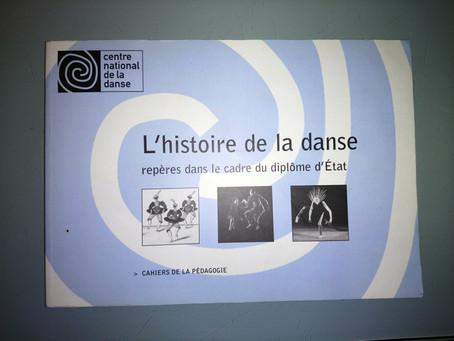 """LIVRE CND """"L'HISTOIRE DE LA DANSE"""""""
