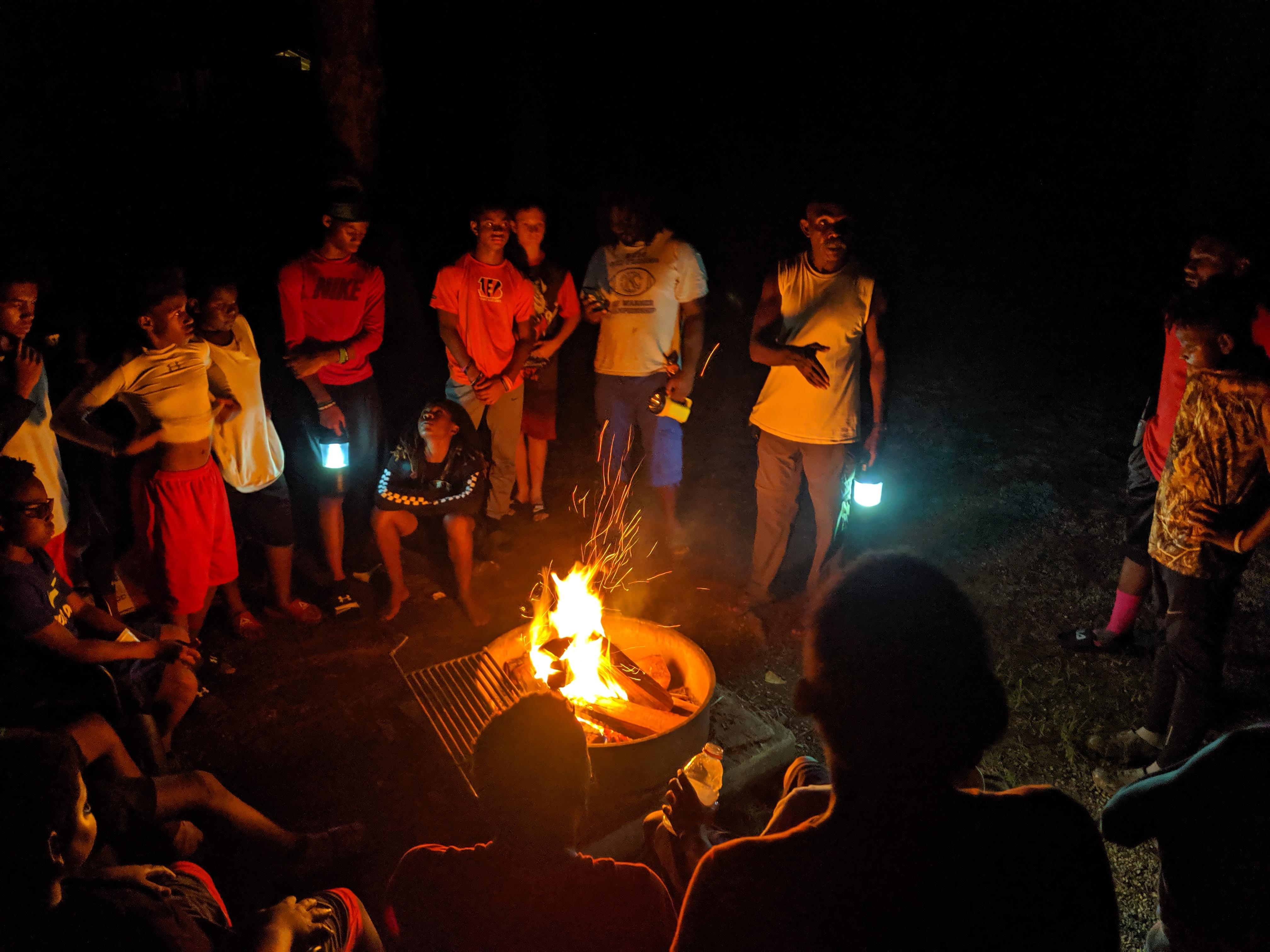 campfire talk