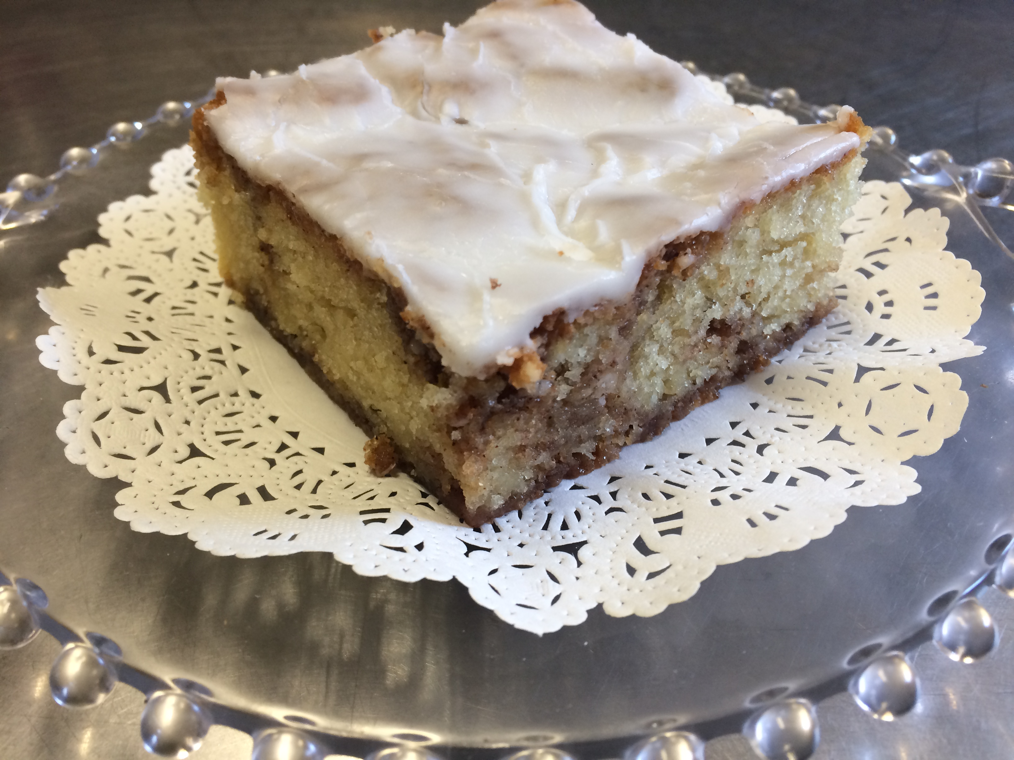 Cinnamon Roll Coffeecake