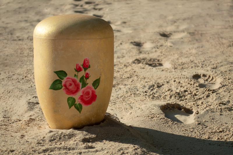 Letzte Spuren im Sand