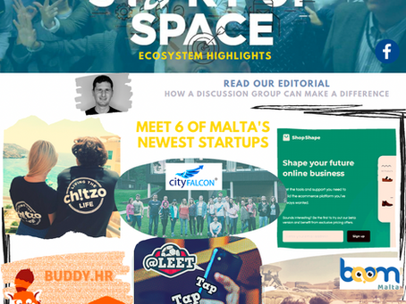 How a simple #Malta #startup group discussion page can make a difference