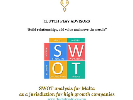 SWOT analysis for Malta as a jurisdiction for high growth companies