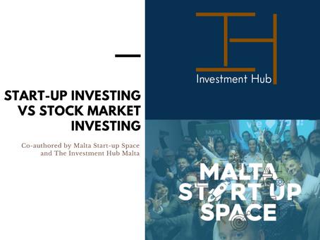 Stock Market Vs Start-Up Investing