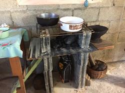 Home kitchen interior set