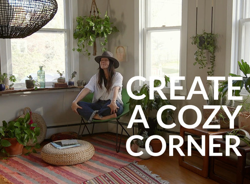 HOW WE HOMESY: CREATE A COZY CORNER