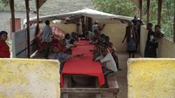 Haiti Orphanage Dining Area
