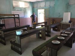 Int. Orphanage dining hall set