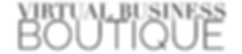 Virtual Business Boutique Logo