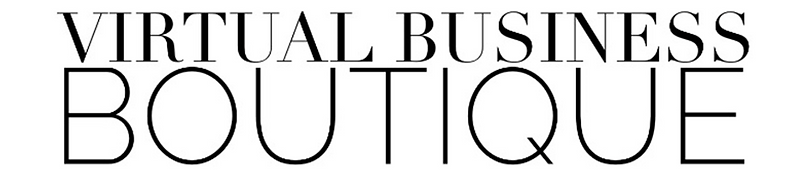 Virtual Business Boutique Logo