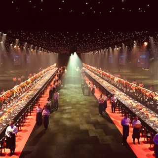 Noemi was Site Manager for Battersea Evolution private parties and Awards Dinners