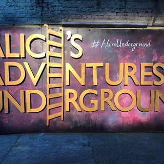 Chaz was Front of House Manager and Duty Manager for the productions of Alice's Adventures Underground and Adventures In Wonderland, at The Vaults