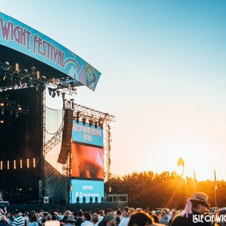 Chaz was the Office Administrator for a security firm at Isle of Wight Festival