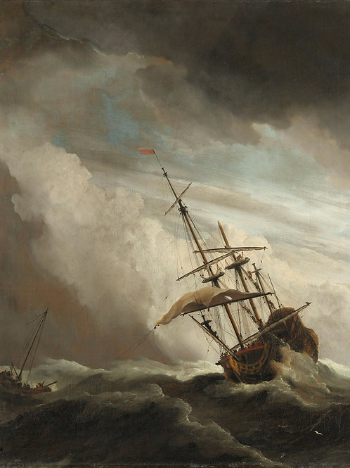 Visioconférence en Replay Tempêtes et naufrages dans l'Art