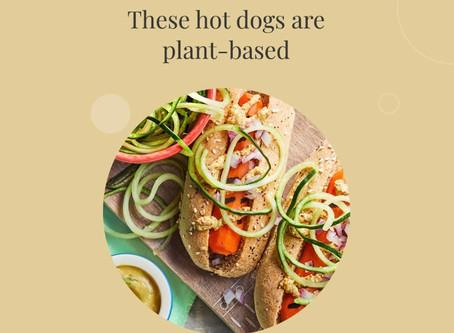 Plant-based Hot Dog