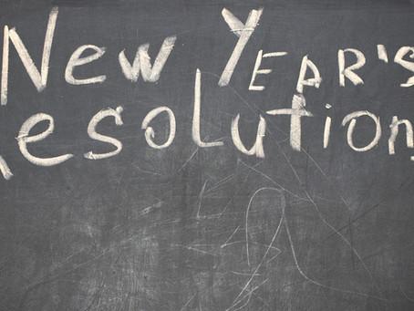 No resolutions ! Set real goals !