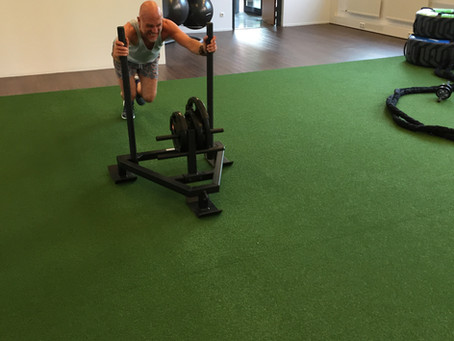 HIIT Training with Sled