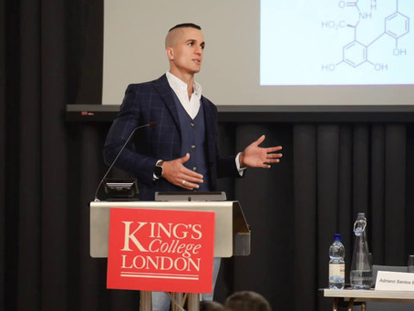Gut has feelings lecture at king's college