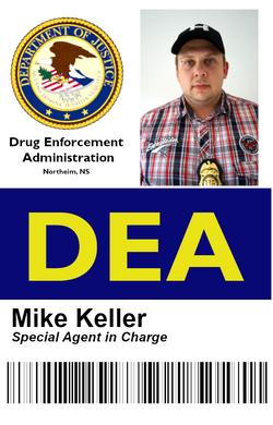 Mike DEA Ausweis 1
