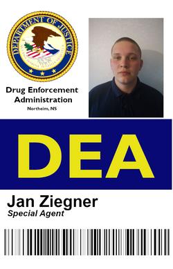 JAN DEA Ausweis 1